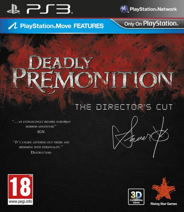 Deadly Premonition: The Director's Cut (поддерживает PS Move)