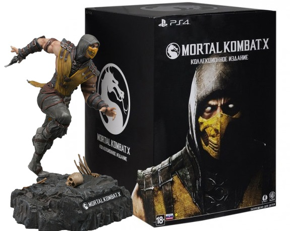 Mortal Kombat X Kollector's Edition (комплект без диска)