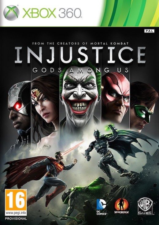 Injustice: Gods Among Us (Рус)
