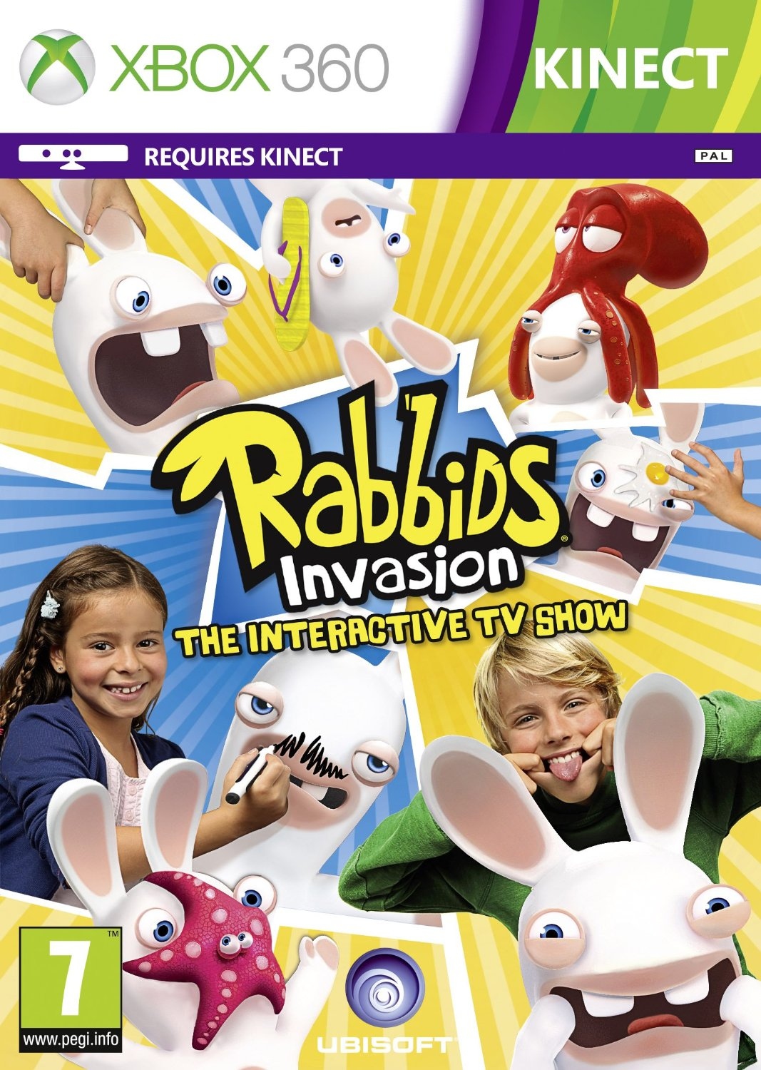 Rabbids Invasion (для Kinect) (Рус)