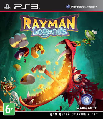 Rayman Legends (Essentials)  (Рус)