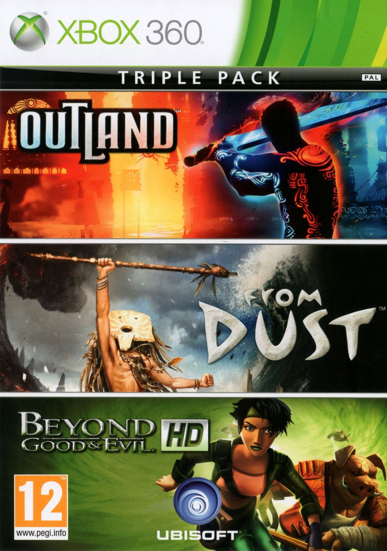 Комплект: Outland + From Dust + Beyond Good & Evil HD