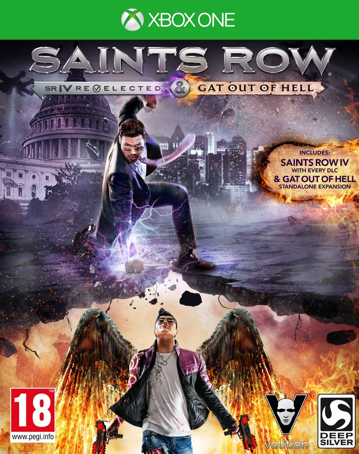 Saints Row IV (4): Re-Elected + Saints Row: Gat Out Of Hell (Рус)