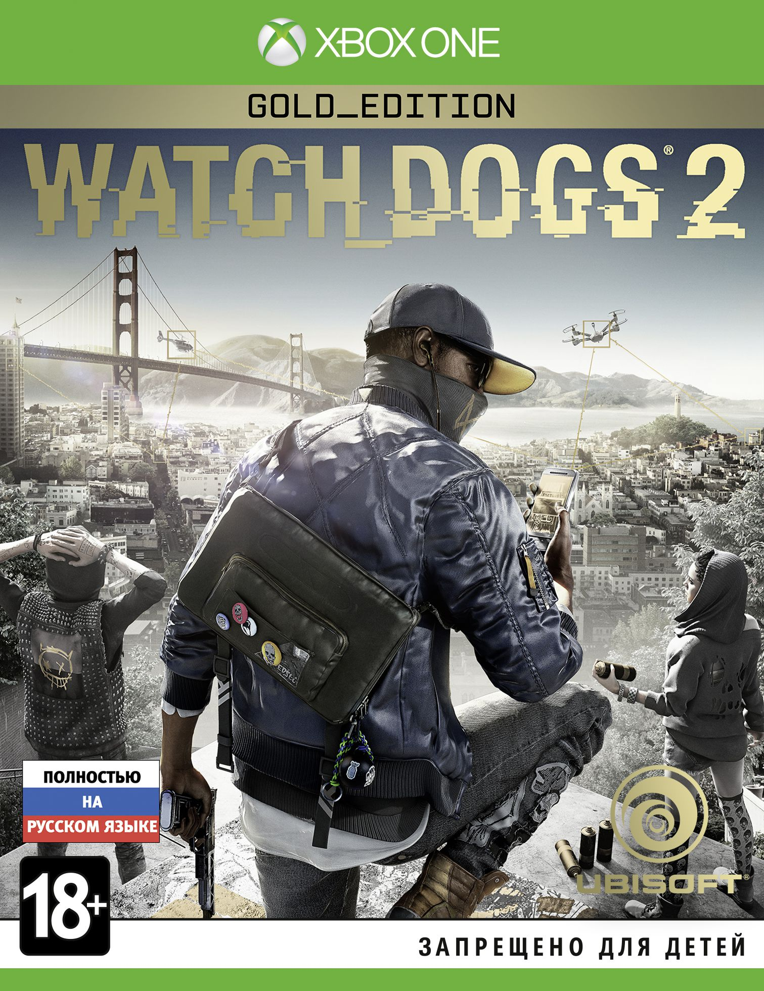 Watch Dogs 2. Gold Edition (Рус)