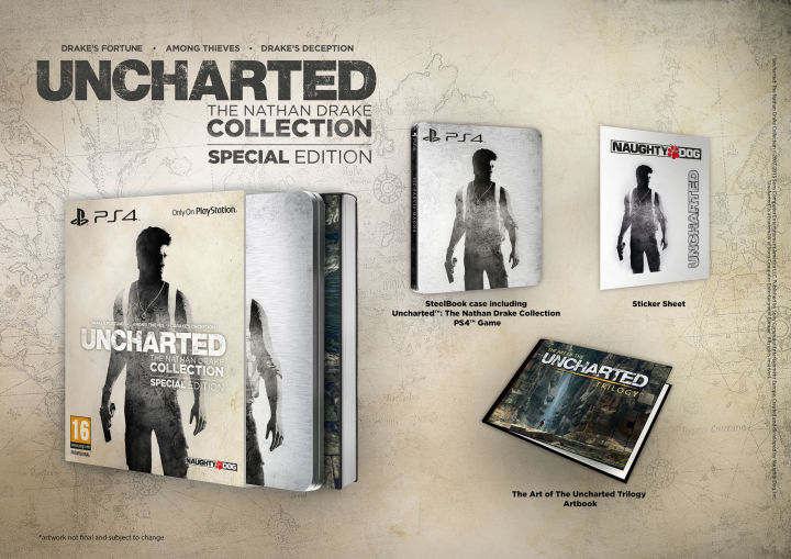 Uncharted: ����� �����. K�������� (Uncharted: The Nathan Drake Collection) ����������� ������� (���)