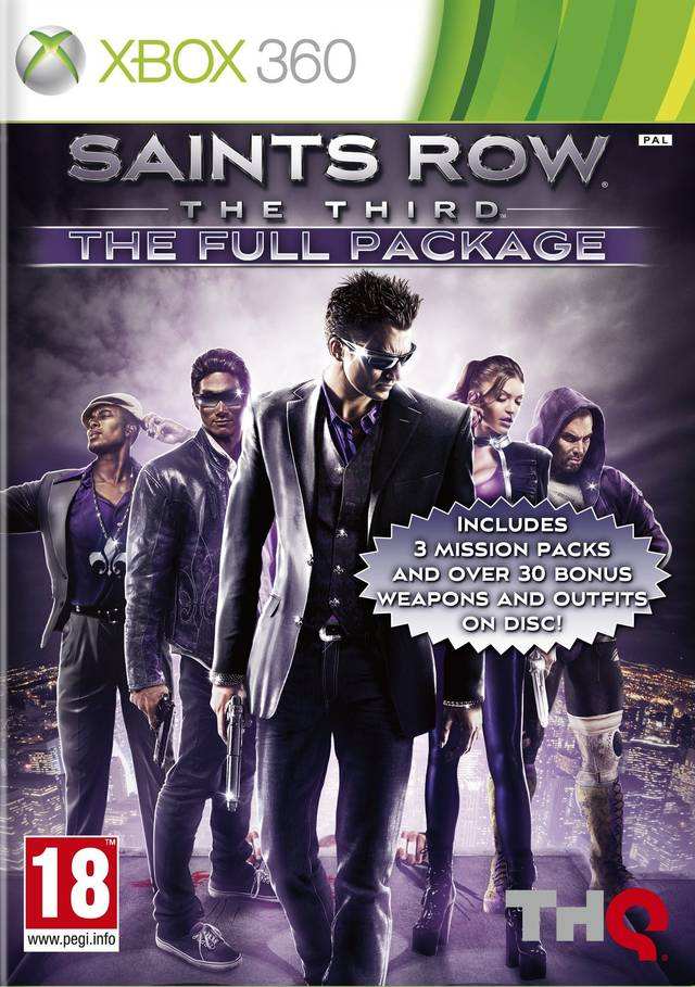 Saints Row: The Third Full package (Рус)