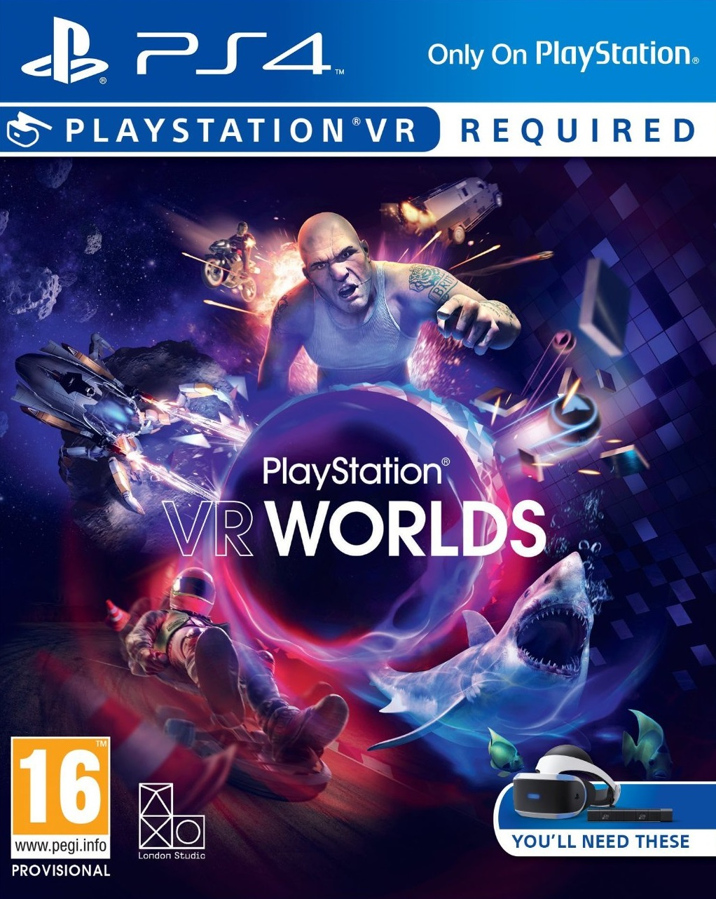 PlayStation VR Worlds (��� PS VR) (���)
