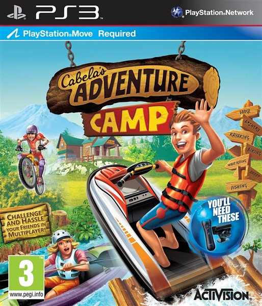 Cabela's Adventure Camp (для PS Move)