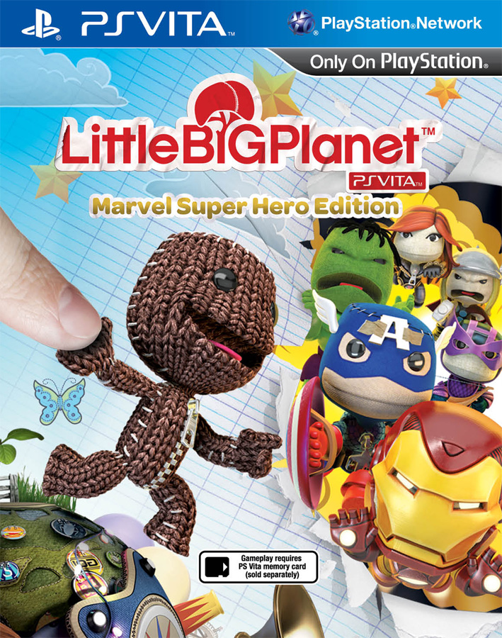 LittleBigPlanet Marvel Super Hero Edition (Рус)