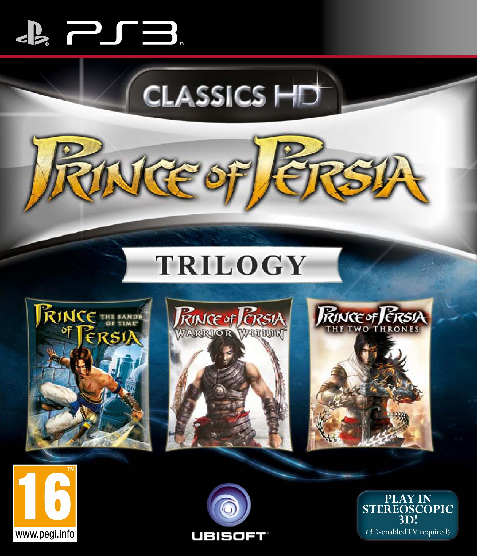 Prince of Persia Trilogy Classics HD