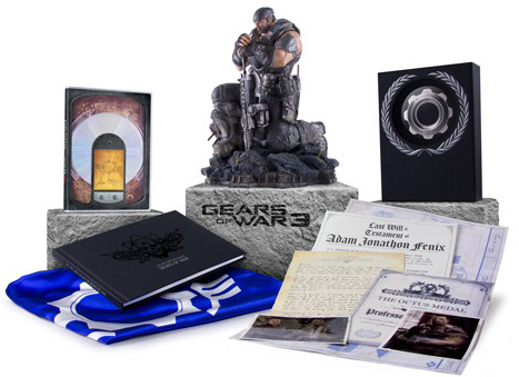 Gears of War 3 Epic Edition (некондиция)