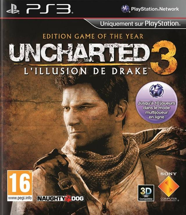 Uncharted 3: Drakes Deception Game of the Year Edition
