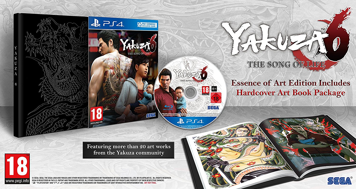 Yakuza 6: The Song of Life. Essence of Art Edition