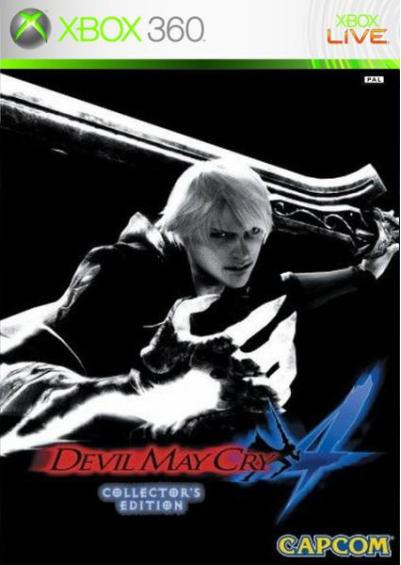 Devil May Cry 4 Steelbook Edition