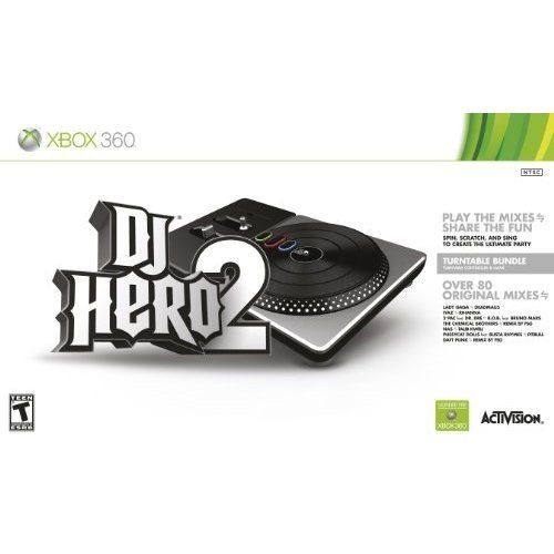 DJ Hero 2 Turntable Kit (игра + контролер)