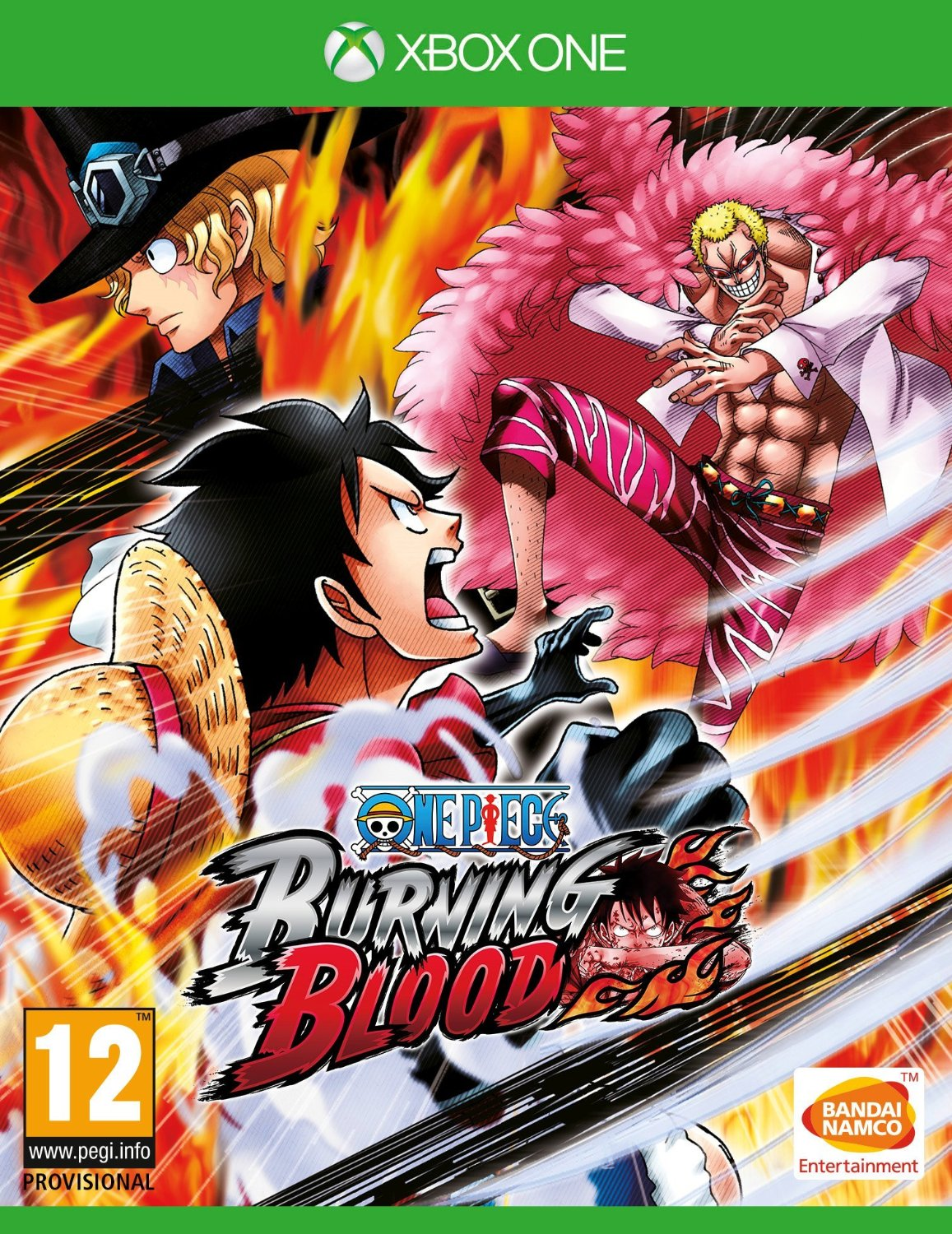 One Piece: Burning Blood (Рус)