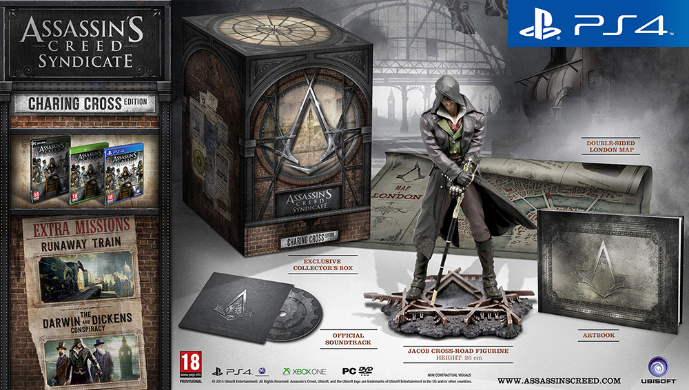 Assassin's Creed Синдикат (Syndicate) Издание Чаринг-Кросс (Charing Cross Edition) (Рус)