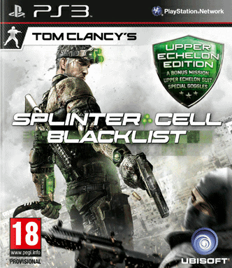 Tom Clancys Splinter Cell Blacklist  Upper Echelon Edition