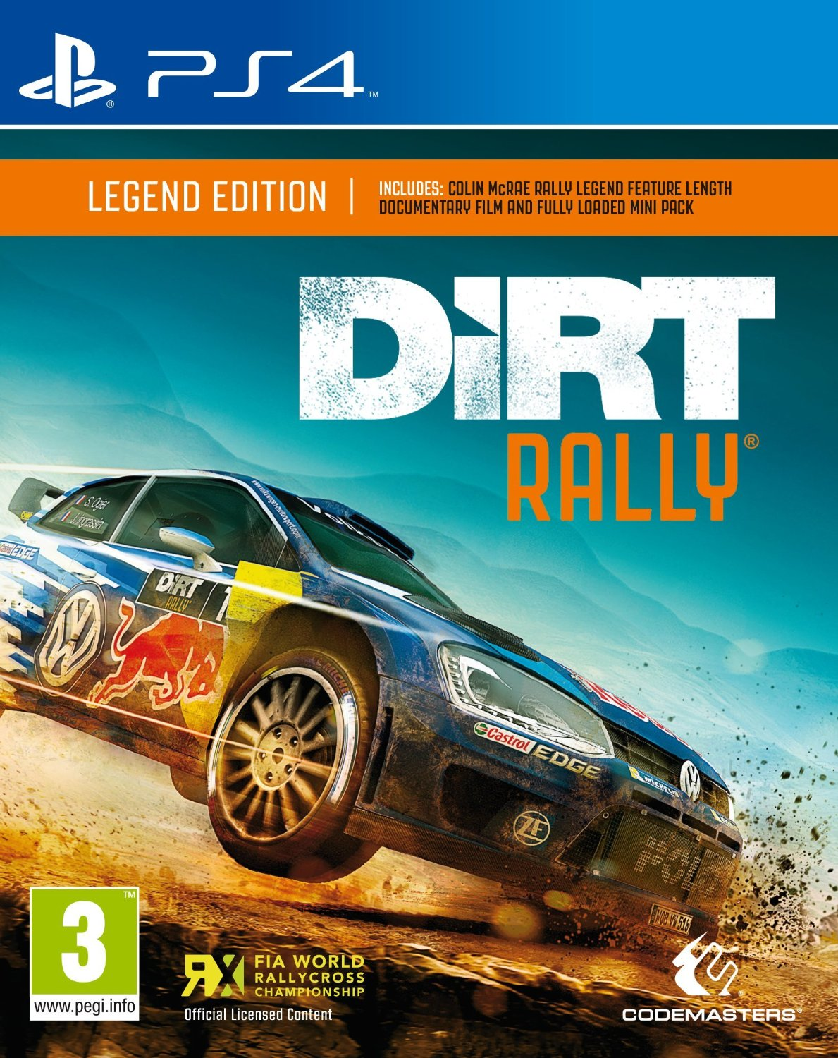 Dirt Rally Legend Edition (Рус)