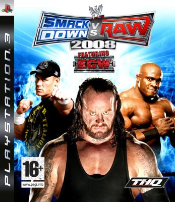 WWE SmackDown! vs. RAW 2008 (Pусская инструкция)