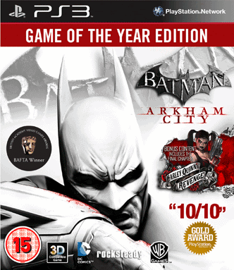 Batman: Arkham City Game of the Year Edition (Рус)