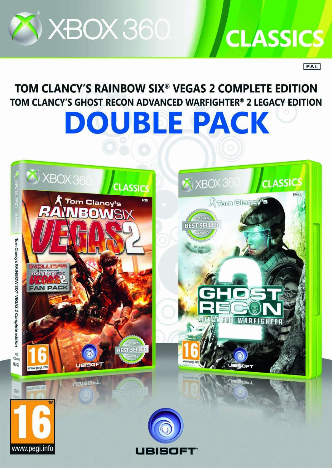 Комплект: Rainbow Six Vegas + Rainbow Six Vegas 2