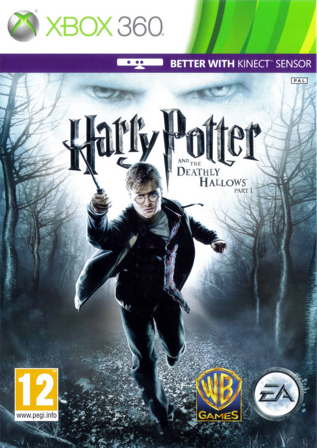 Harry Potter and the Deathly Hallows: Part 1 (поддерживает Kinect)