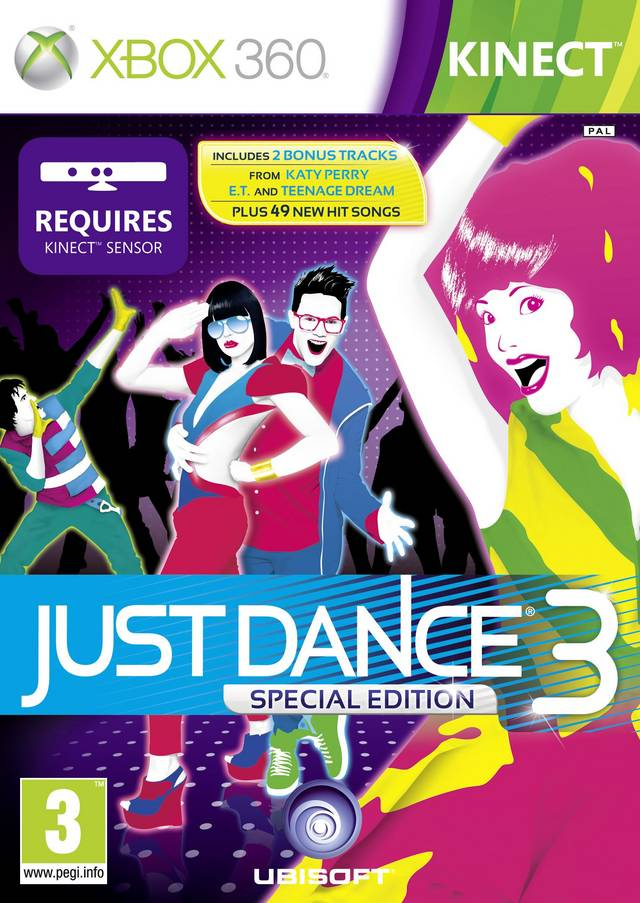 Just Dance 3 Special Edition (для Kinect)
