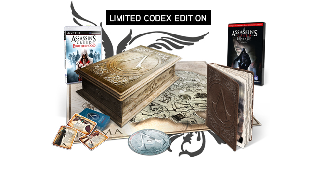 Assassin's Creed Братство Крови (Рус) Limited Codex Edition