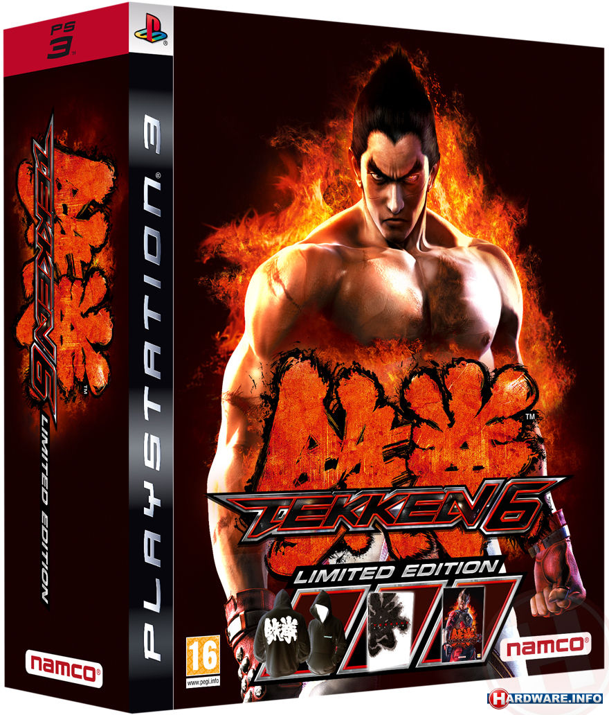 Tekken 6 limited Edition: комплект без игры (некондиция)