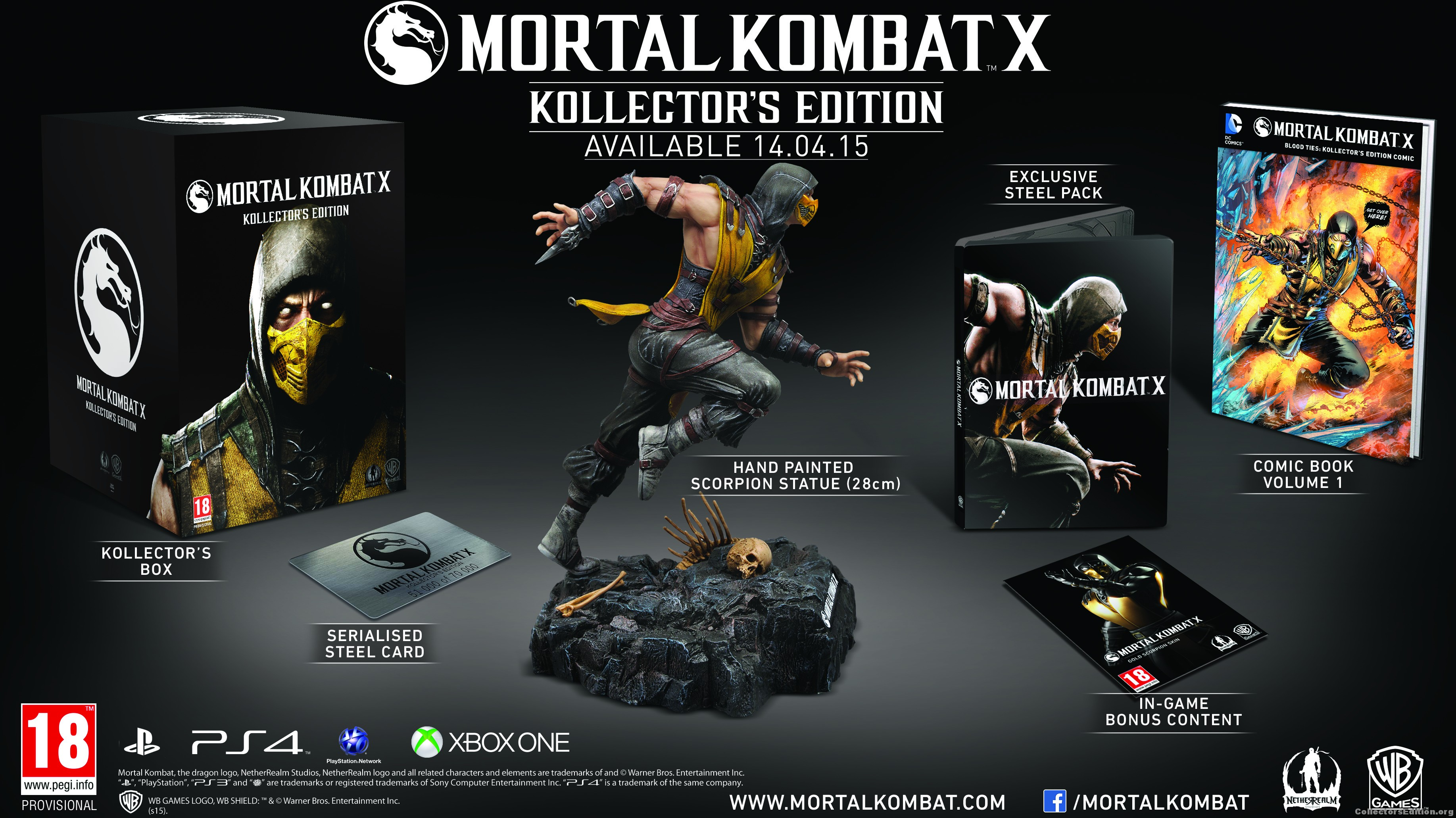 Mortal Kombat X Kollector's Edition (Рус)