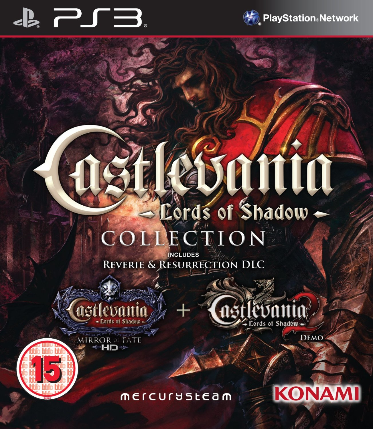 Castlevania: Lords of Shadow Collection(некондиция)