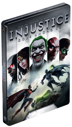 Injustice: Gods Among Us Steelbook Edition