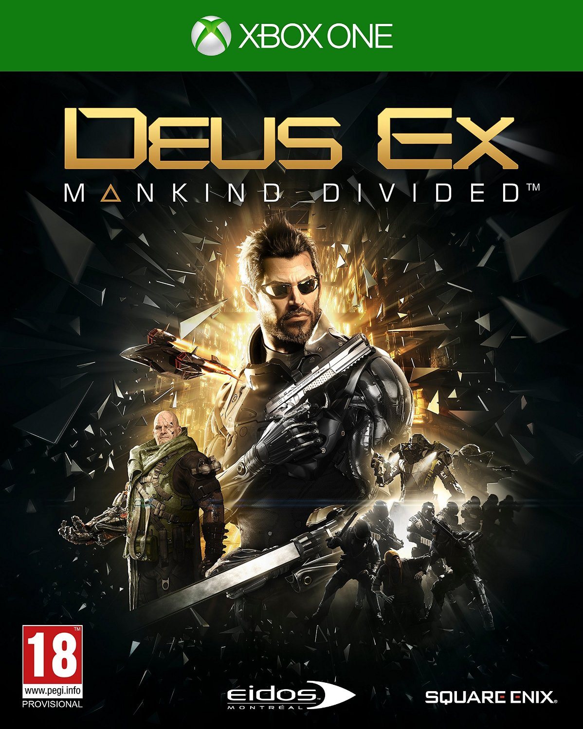 Deus Ex: Mankind Divided Day 1 Edition (Рус)