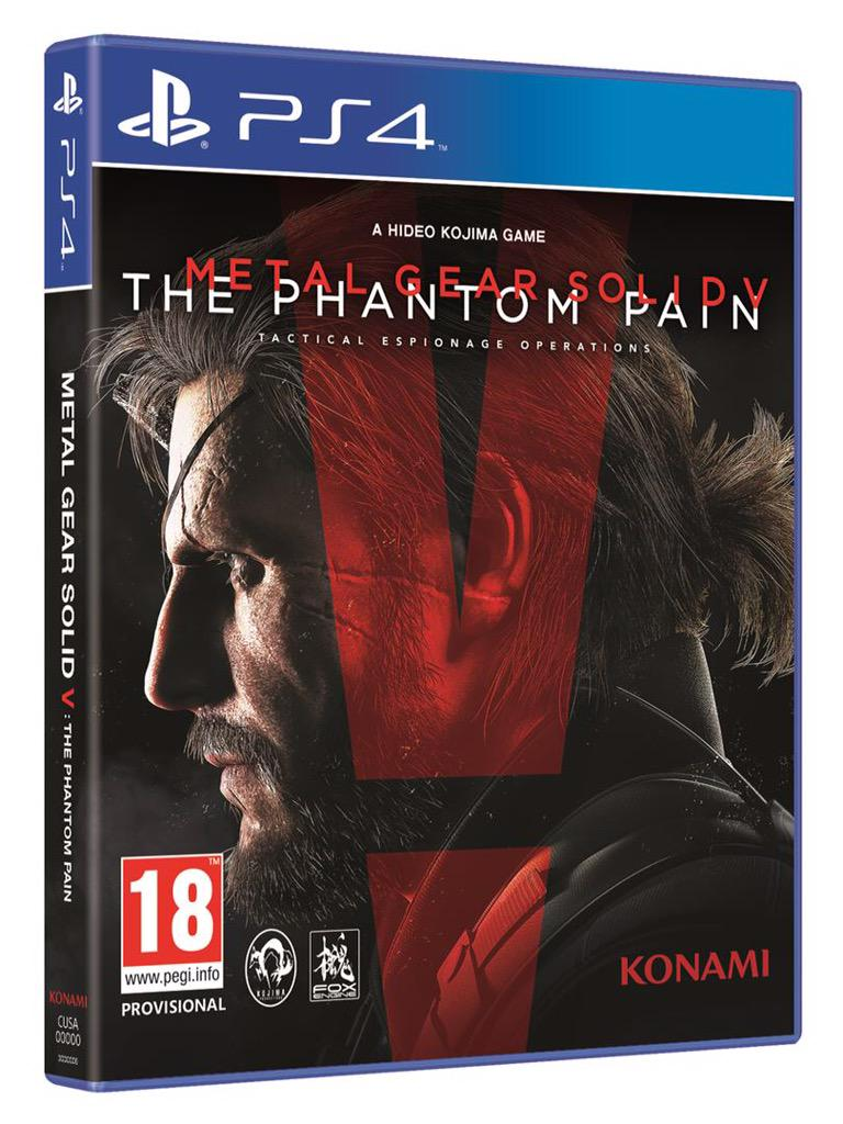 Metal Gear Solid V (5) The Phantom Pain Day 1 Edition (Рус)