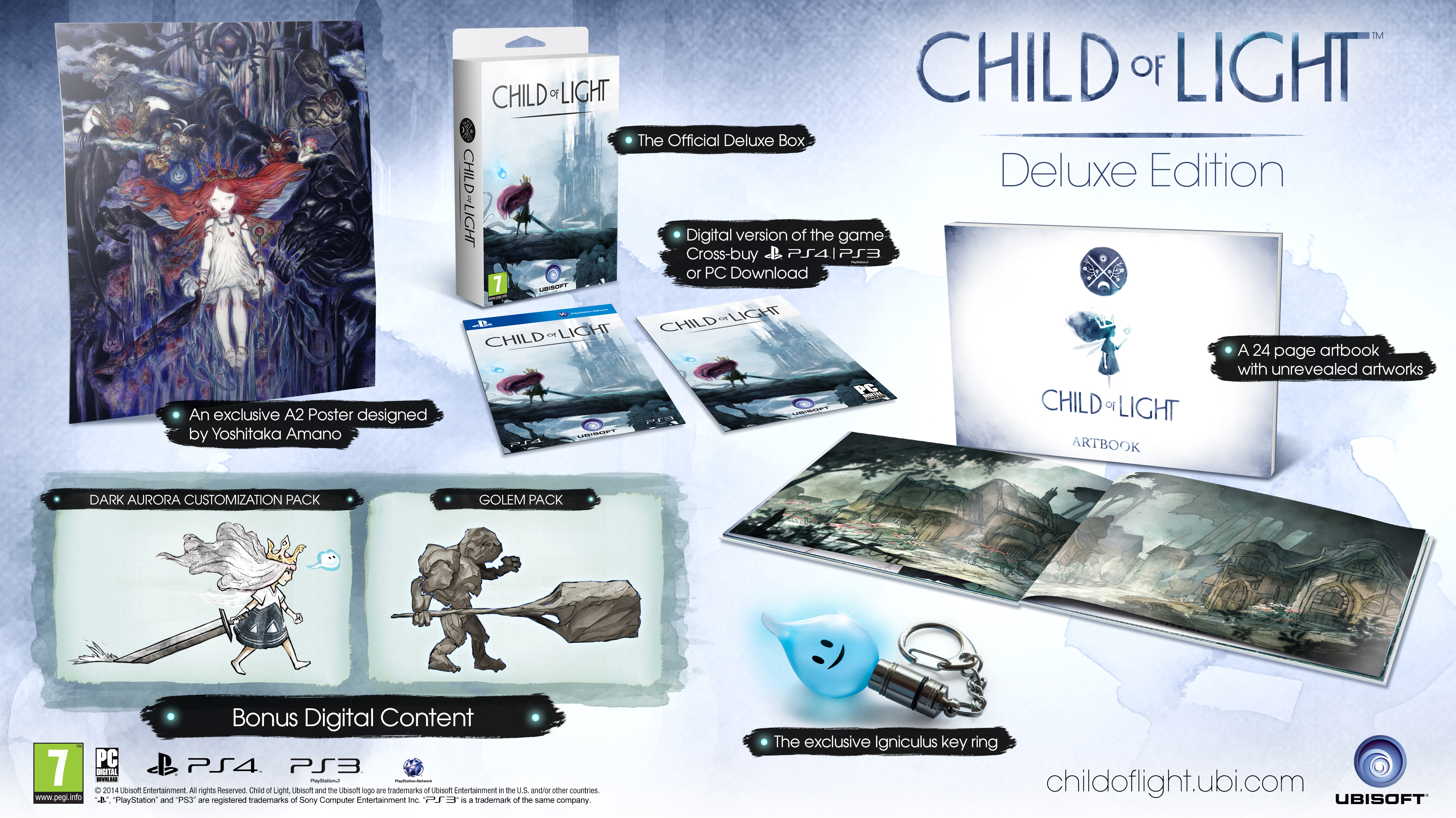Child of Light Deluxe Edition (Рус)
