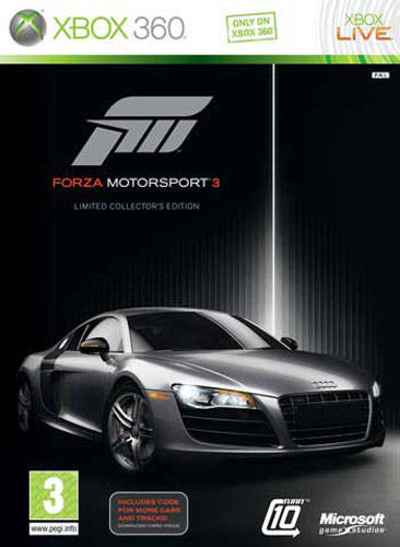 Forza Motorsport 3 Limited Edition Bonus Disc