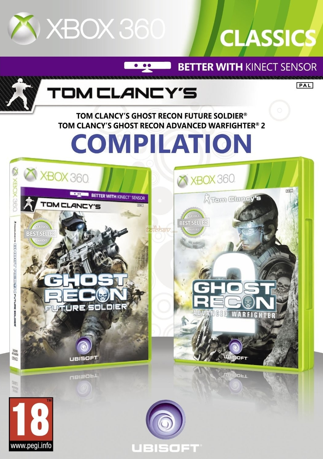 Комплект: Ghost Recon: Future Soldier + Advanced Warfighter 2