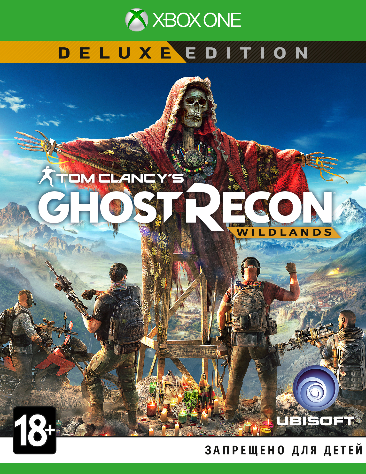 Tom Clancy's Ghost Recon: Wildlands. Deluxe Edition (Рус)