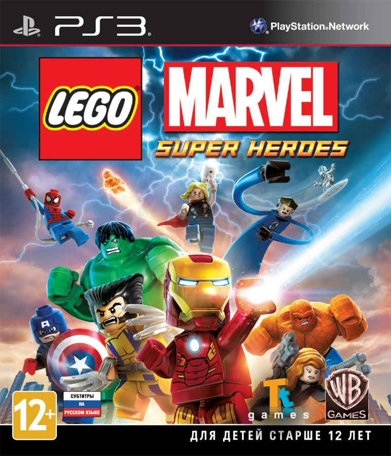 Lego Marvel Super Heroes (Рус)