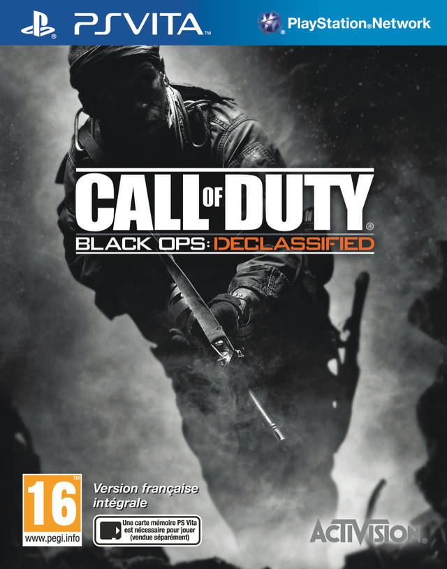 Call of Duty: Black Ops Declassified (PS Vita) (Рус)