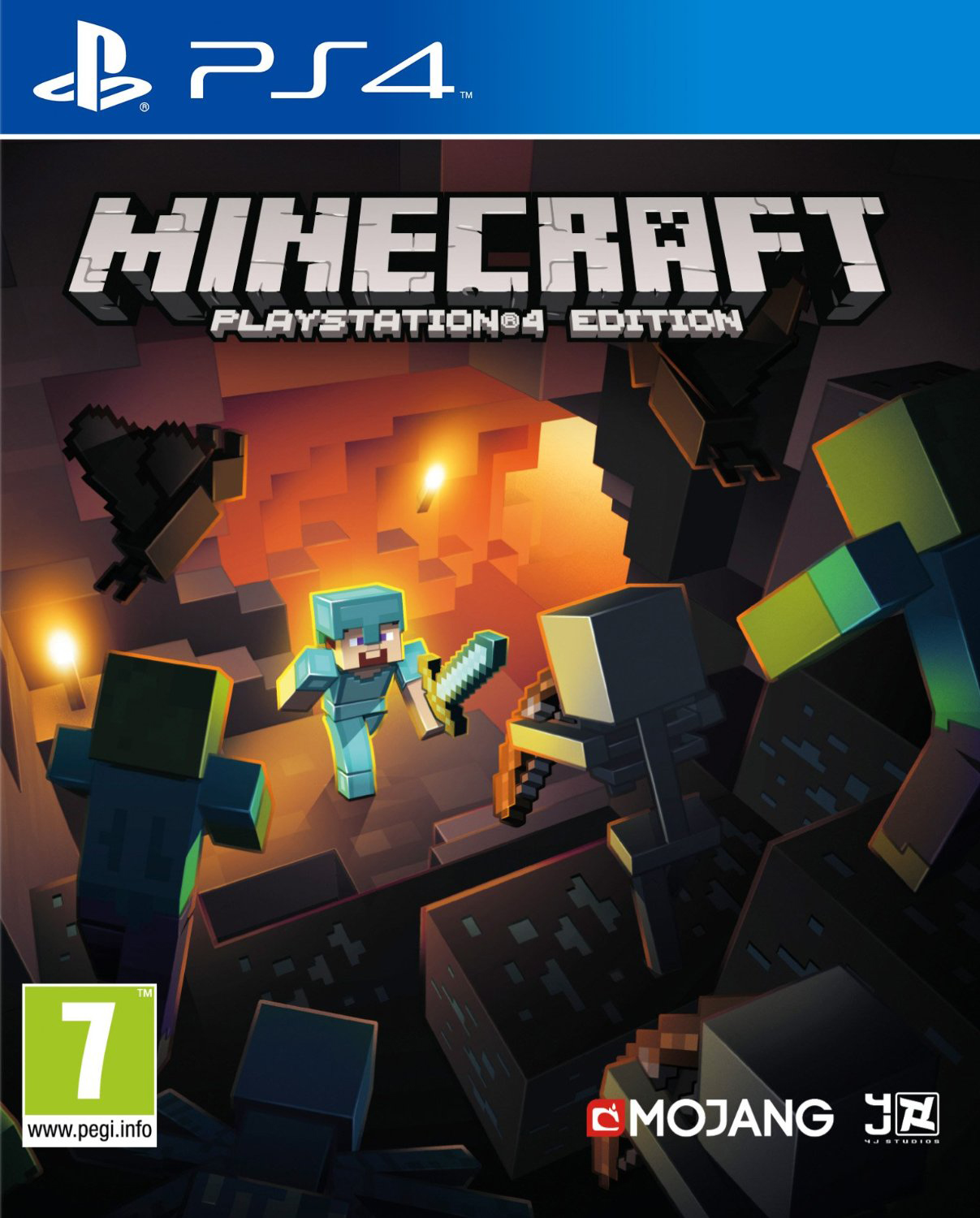 Minecraft. Playstation 4 Edition (Рус)