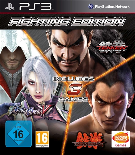 Fighting Edition (Tekken 6 + Soul Calibur 5 + Tekken Tag Tournament 2) (Рус)