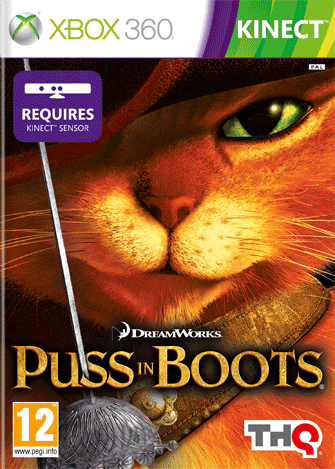 Puss in Boots (Кот в сапогах) (для Kinect)