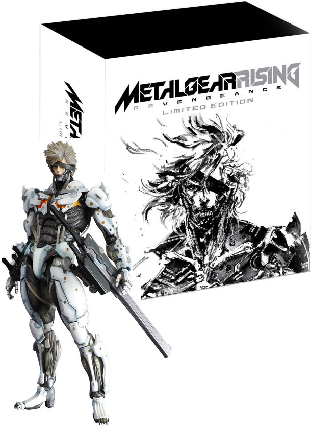 Metal Gear Rising: Revengeance Limited Edition (без диска)