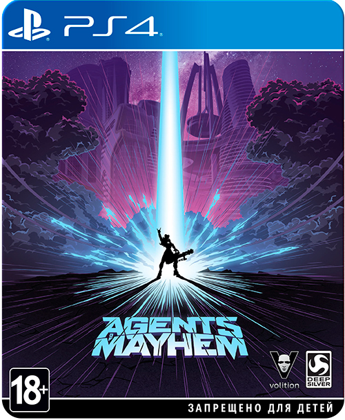 Agents of Mayhem Издание Steelbook (Рус)