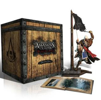 Assassins Creed 4 (IV) Black Flag (Чёрный Флаг) Buccaneer Edition (Рус) Некондиция