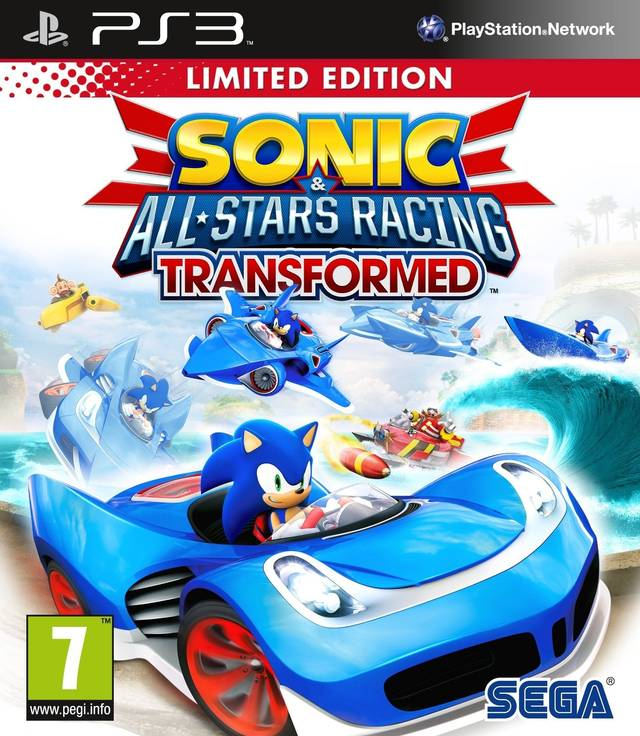 Sonic  SEGA All-Stars Racing Transformed Limited edition
