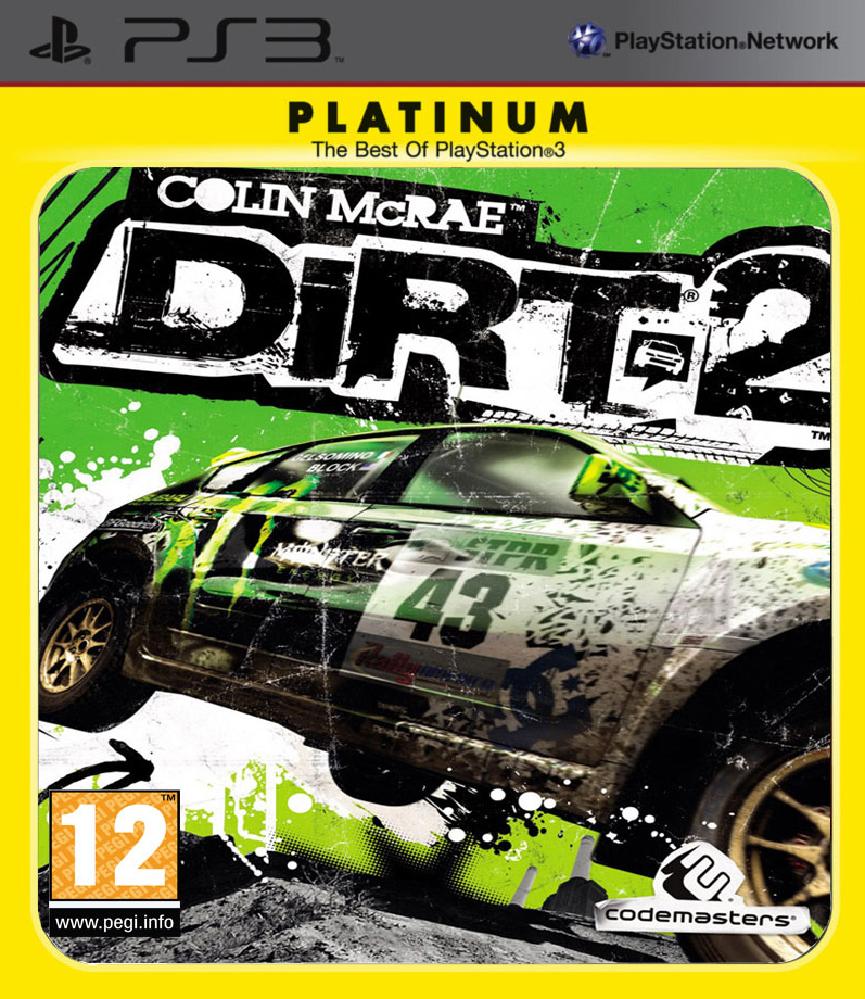 Colin McRae: DIRT 2 (Platinum)