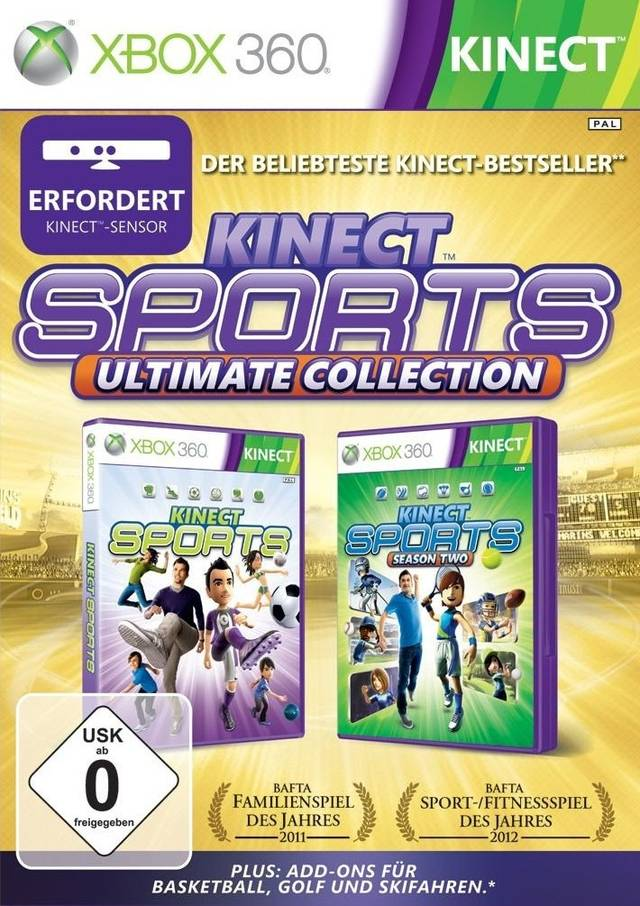 Kinect Sports: Ultimate Collection (для Kinect) (Рус)